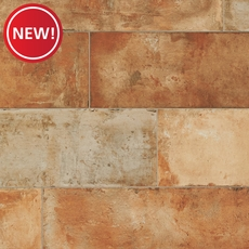 New! Terre Rosso Natural Porcelain Tile