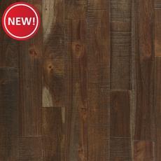 New! Acacia Dark Brown Hand Scraped Solid Hardwood