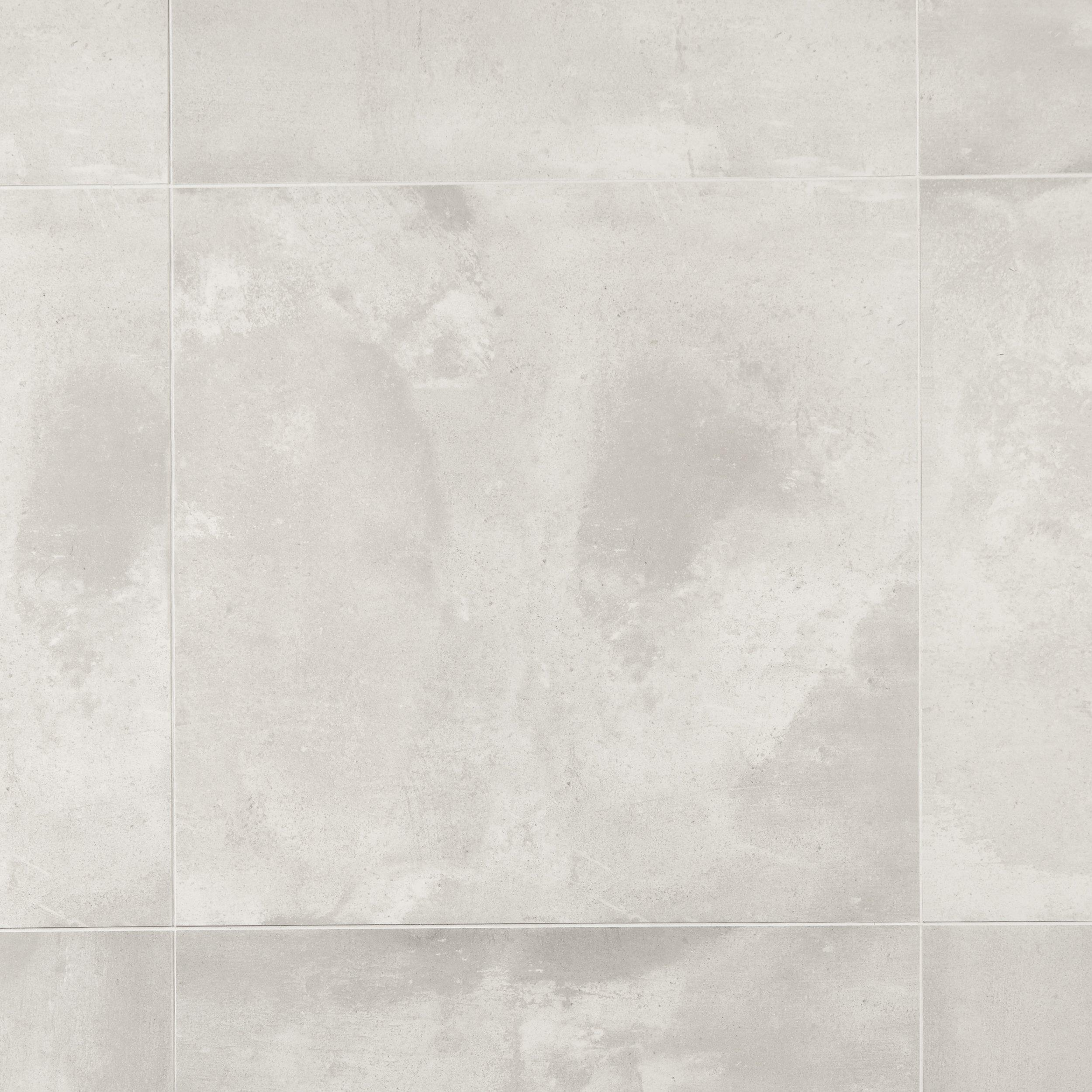 Lunar White Ceramic Tile 24in x 24in 100340777 Floor and Decor