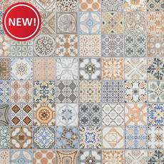 New! Provenzia Decorative Mix Pattern Porcelain Tile