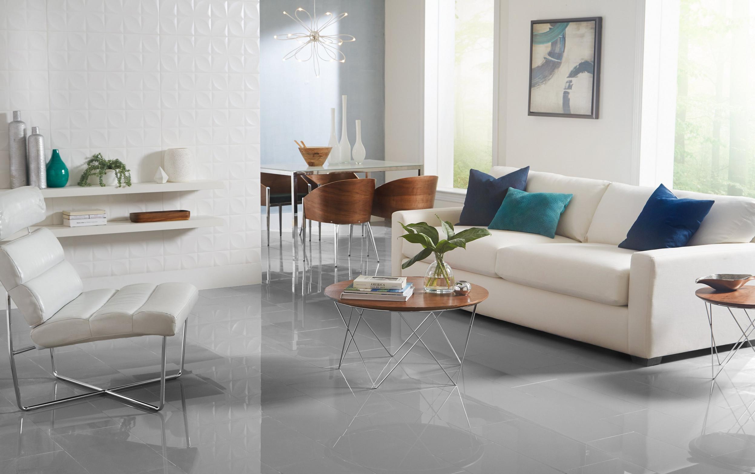 Contemporary Gallery Floor Decor