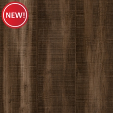 New! Eco Forest Vintage Taupe Hand Scraped Locking Stranded Bamboo