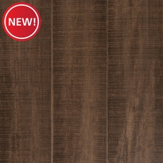 New! Eco Forest Vintage Taupe Hand Scraped Solid Stranded Bamboo