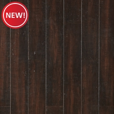New! Eco Forest Barnwood Hand Scraped Locking Stranded Bamboo