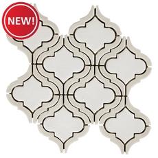 New! Clay Frame Arabesque Porcelain Mosaic