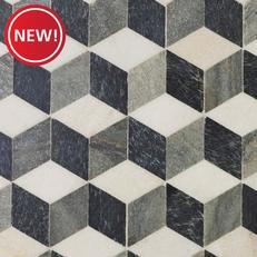 New! Modern Geo Slate Mosaic