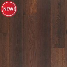 New! Mocha Hickory Hand Scraped Engineered Hardwood