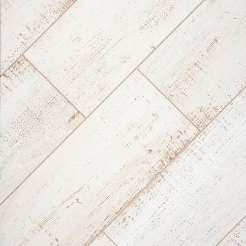 Windsor White Wood Plank Porcelain Tile 12 X 36