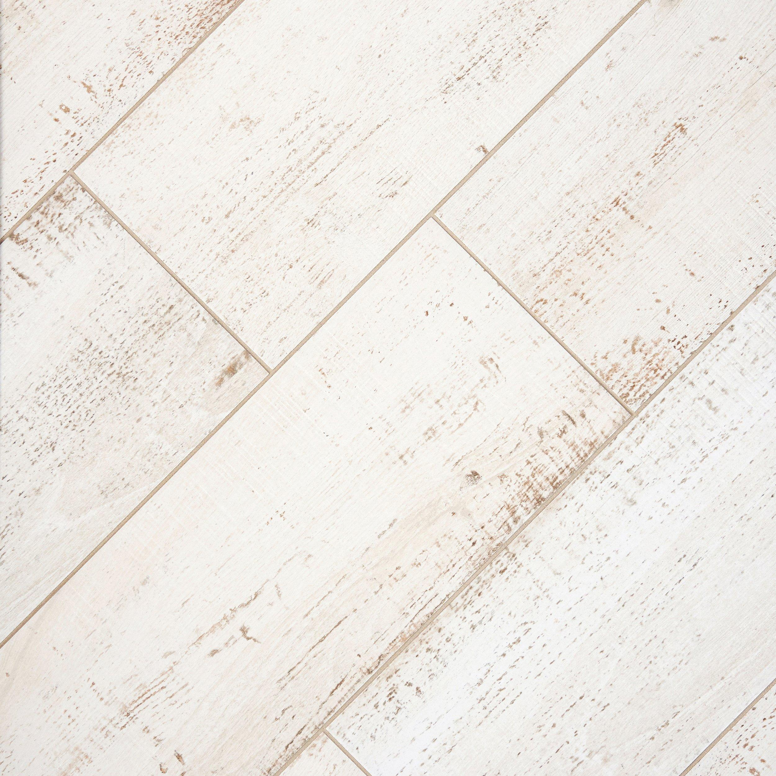 Delicieux Windsor White Wood Plank Porcelain Tile   12 X 36   100344225 | Floor And  Decor
