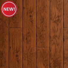 New! Carolina Hickory Hand Scraped Luxury Vinyl Plank