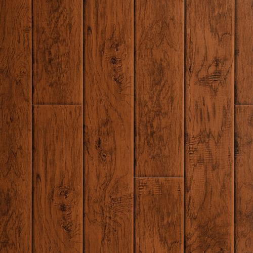Carolina Hickory Hand Scraped Luxury Vinyl Plank 42mm 100344274
