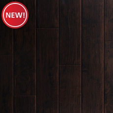New! Dark Hampton Hickory Hand Scraped Luxury Vinyl Plank
