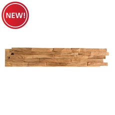 New! Dimensional Natural White Oak Wall Wood Panel