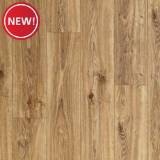 New! AquaGuard Natural Oak Water-Resistant Laminate