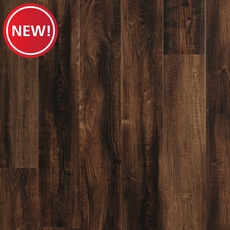 New! NuCore Ombre Tan Hand Scraped Plank with Cork Back