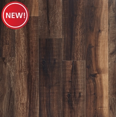 New! NuCore Mixed Mocha Hand Scraped Plank with Cork Back