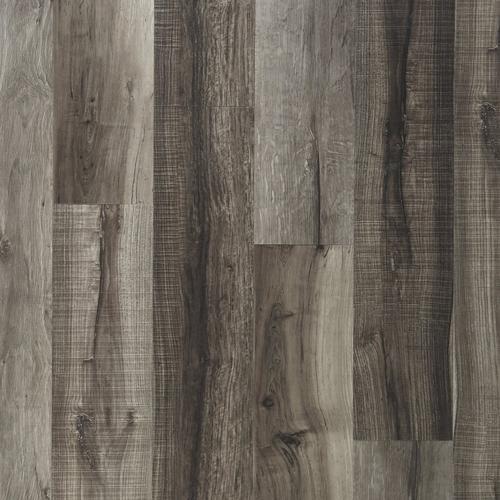 Mixed Gray Rigid Core Luxury Vinyl Plank Cork Back 6 5mm