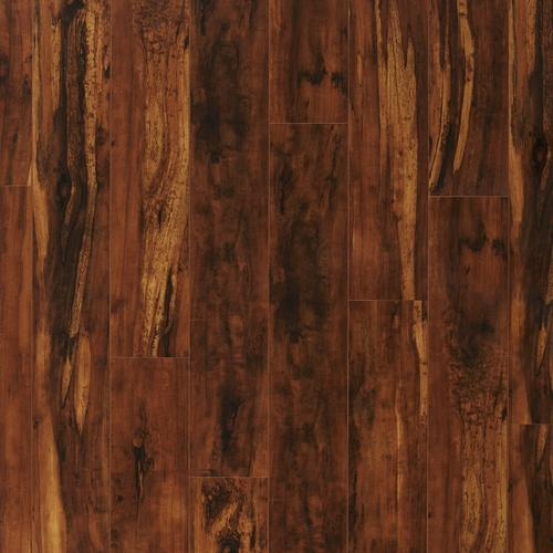 Exotic Tigerwood High Gloss Laminate 12mm 100376912 Floor And