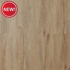 New! NuCore Gray Blend Plank with Cork Back