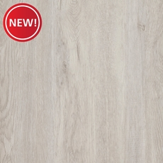New! Silver Gray Oak Luxury Vinyl Plank