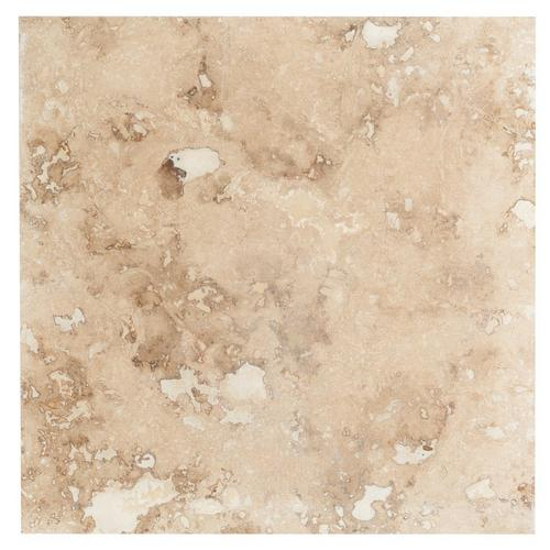 Paros Honed Filled Travertine Tile 18 X 18 100378140 Floor And