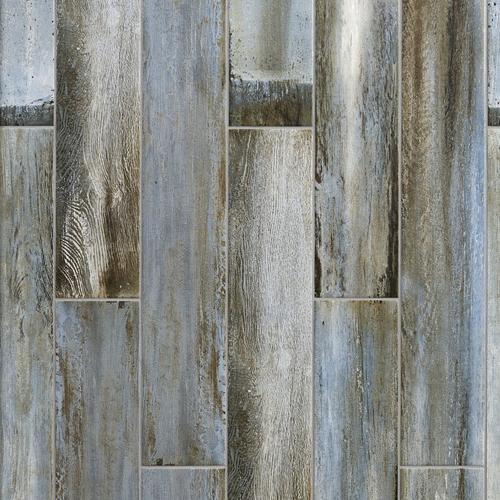 ... Wood Plank Porcelain Tile. Click to zoom - Lexington Blue Wood Plank Porcelain Tile - 6in. X 33in