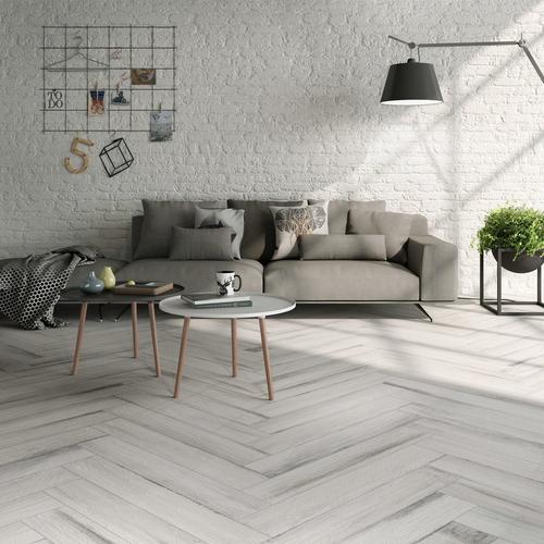 Lexington White Wood Plank Porcelain Tile 6 X 33 100378181