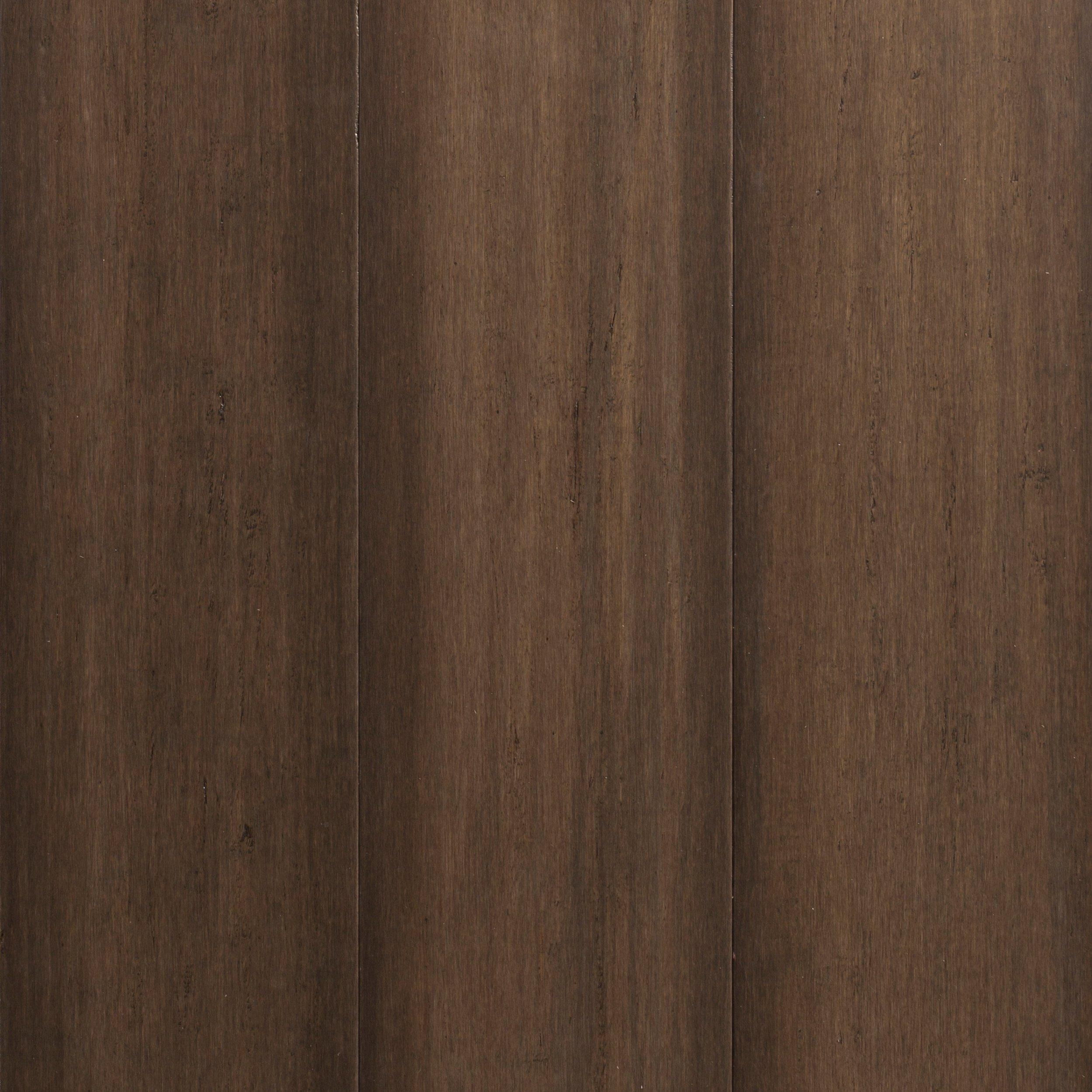 ecoforest greige hand scraped locking engineered bamboo 916in x 7in floor and decor