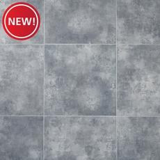 New! Gray Concrete Groutable Luxury Vinyl Tile