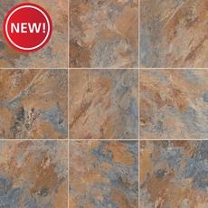 New! Blue Gray Slate Luxury Vinyl Tile