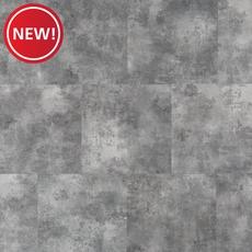 New! Gray Concrete Luxury Vinyl Tile