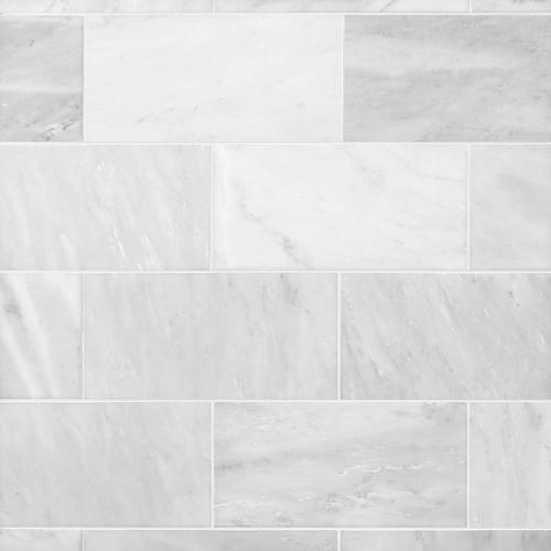 Tuscany Antique Carrara Marble Tile - 8 x 16 - 100385533 | Floor and