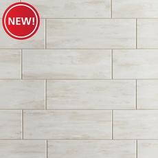 New! Coastal Beach White Wall Tile