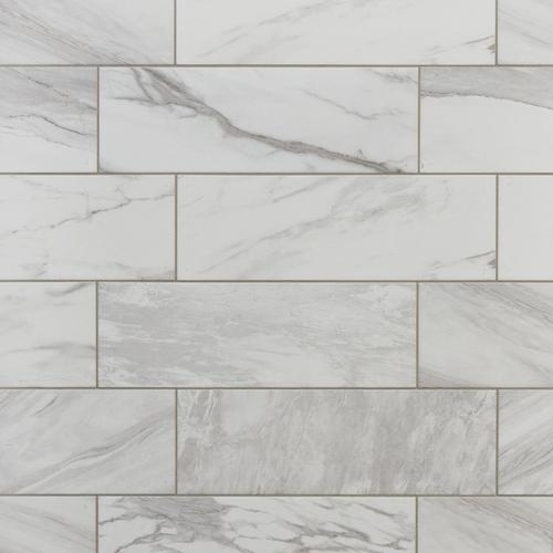 Marble Art Polished Ceramic Tile - 6 x 18 - 100387703 | Floor and Decor