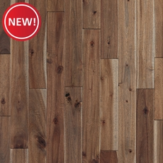 New! Gray Acacia Hand Scraped Solid Hardwood