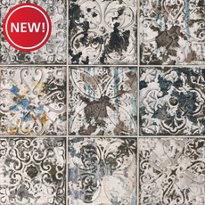 New! Ornato Aged Dark Wall Tile