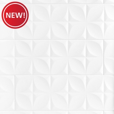 New! Polar White Ceramic Wall Tile