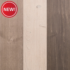 New! Ancient Pine Wire Brushed Solid Hardwood Wall Panel