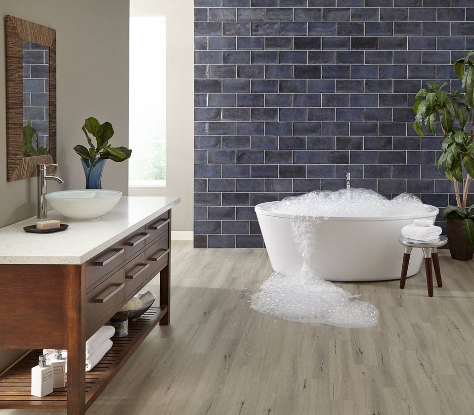 Top 6 exclusive water resistant and waterproof floors - Laminate tiles for bathroom walls ...