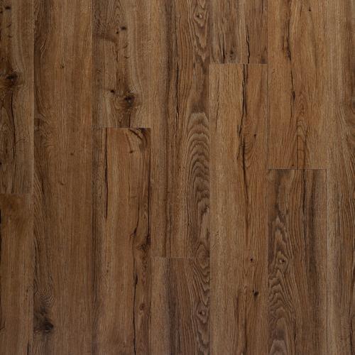 Auburn Oak Luxury Vinyl Plank With Foam Back 6in X 36in
