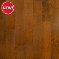 New! Teak Birch Smooth Engineered Hardwood