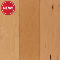 New! Natural Maple Smooth Engineered Hardwood