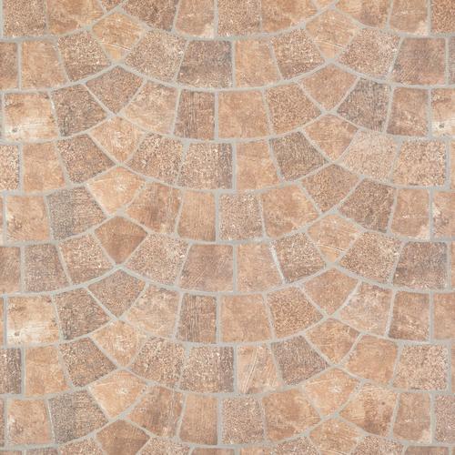 Corbin Castle Red Porcelain Tile - 18 x 18 - 100410505 | Floor and Decor