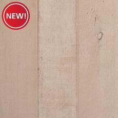 New! White Eucalyptus Distressed Engineered Hardwood Wall Panel