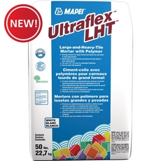 New! Mapei Ultraflex LHT White - Large and Heavy Tile Mortar