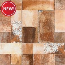 New! Village Dark Ceramic Tile