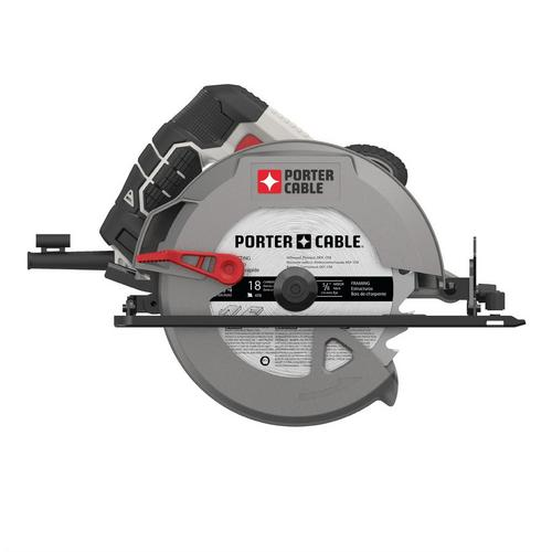 Porter cable 15 amp corded circular saw 7 14in 100413343 porter cable 15 amp corded circular saw tap to zoom greentooth Choice Image