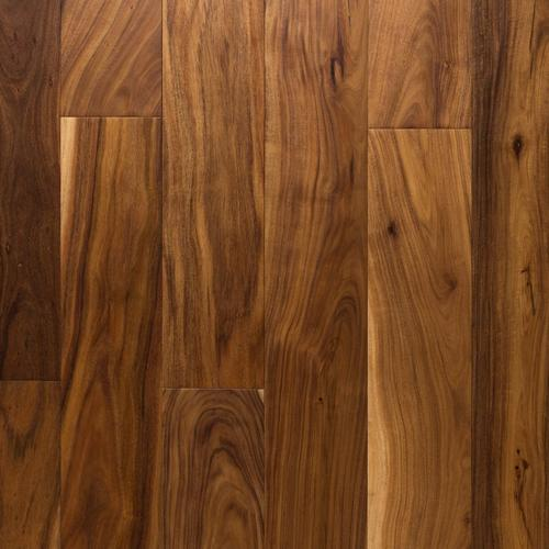 Small Leaf Acacia Hand Scraped Engineered Hardwood 1 2in X 6in