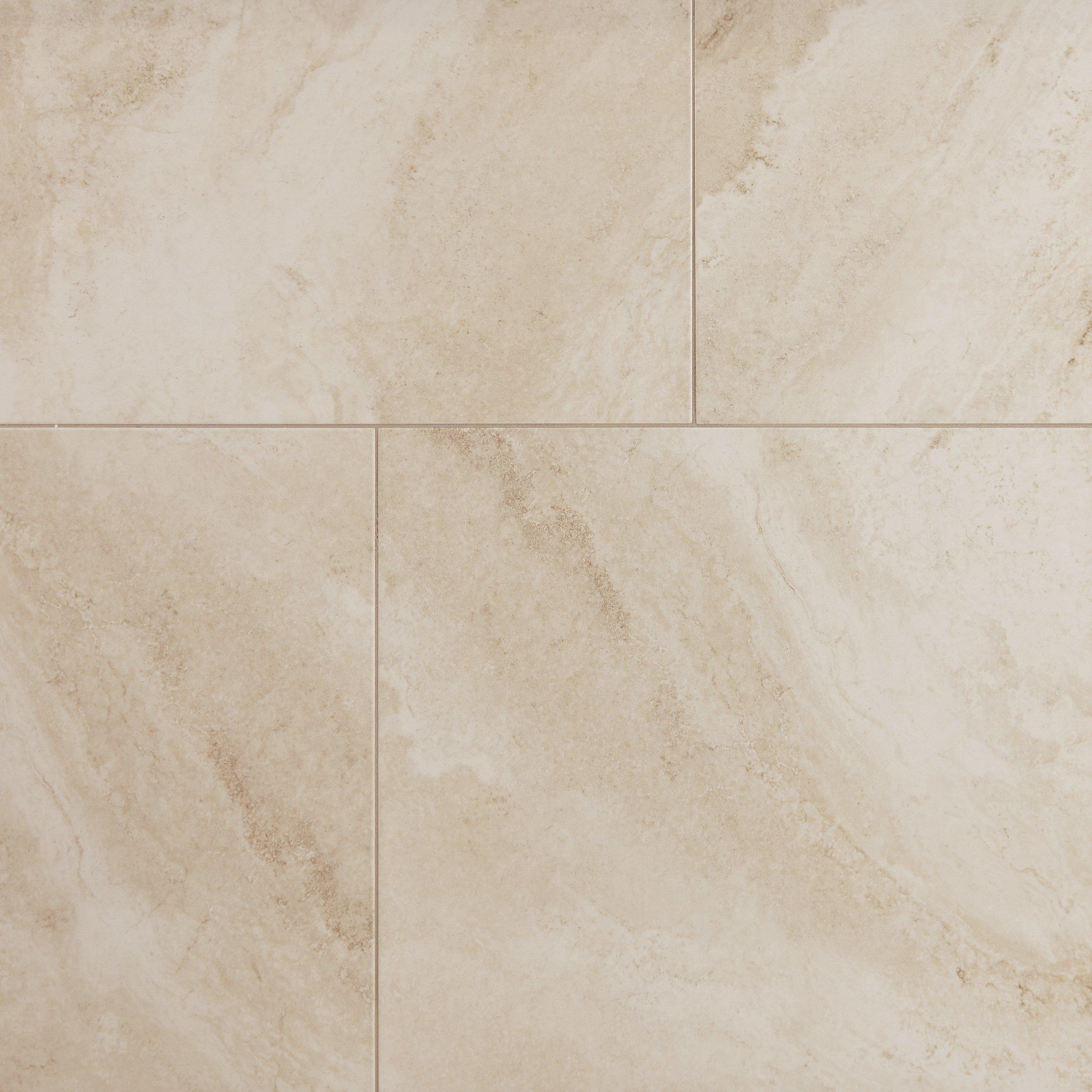 Austin Almond Polished Porcelain Tile   30in. X 30in.   100414838 | Floor  And Decor