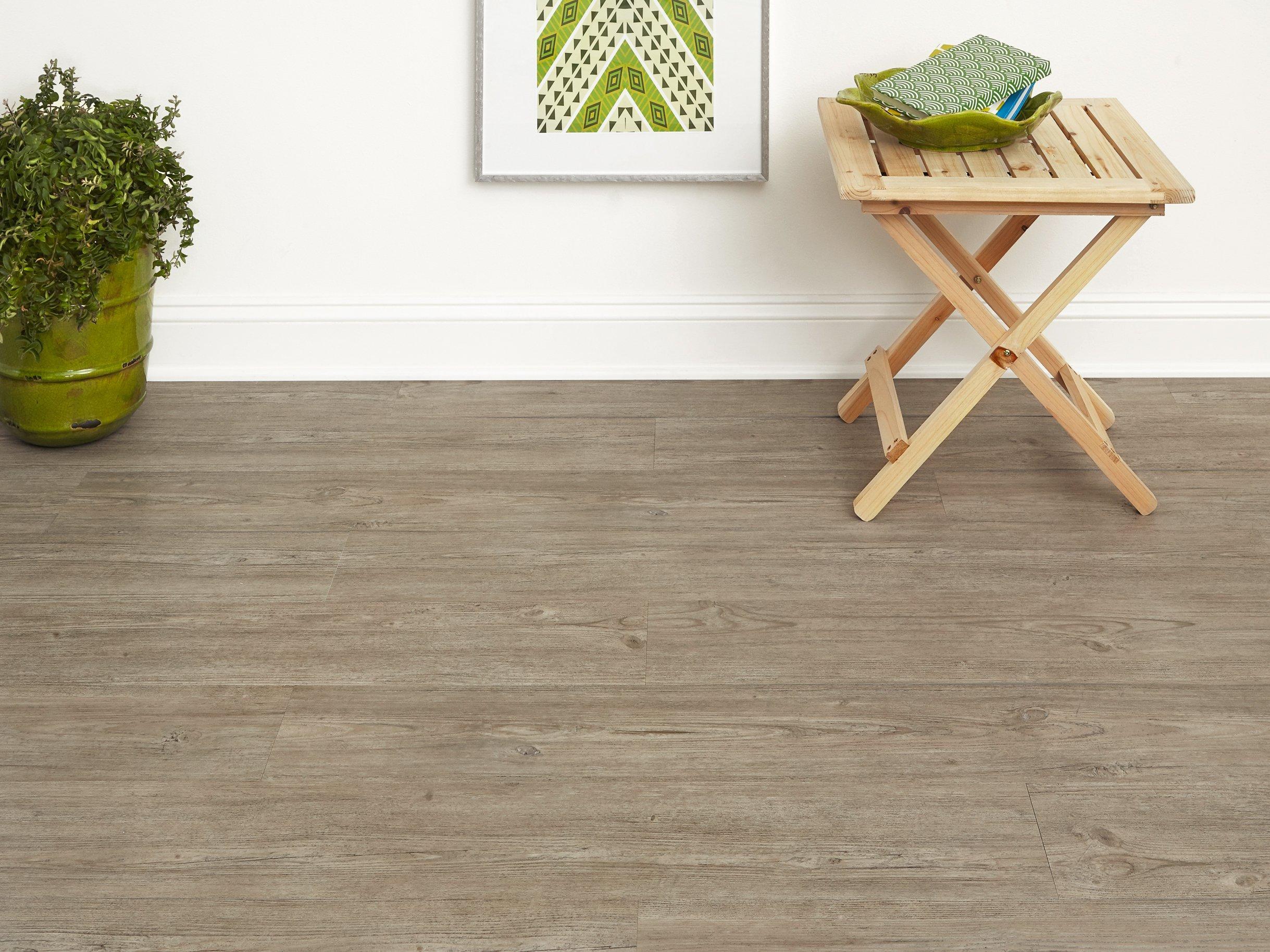 Gray Stone Luxury Vinyl Plank